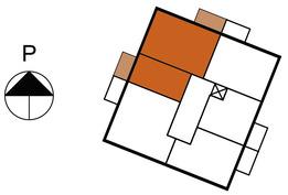 Asunnon 29 sijainti kerroksessa