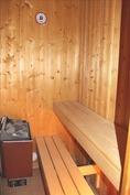 sauna, sähkökiuas