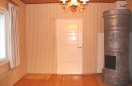 makuuhuone 1, pönttöuuni