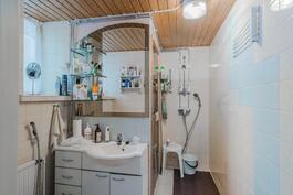 Kaksion kylpyhuone