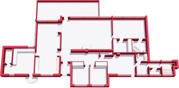 Villa 3D layout