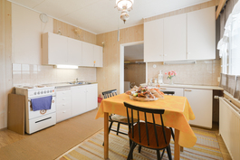 Yläkerran keittiö / Köket i övrevåningen