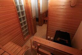 Saunasta kylppäriin ja kodinhoitohuoneeseen