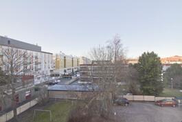 Näköala makuuhuoneesta / Utsikt från sovrummet