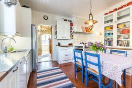 Ihanan kodikas keittiö