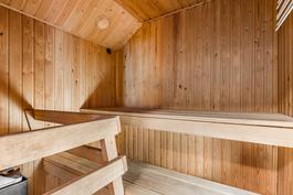 kellarikrs: sauna