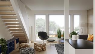 94,5 m2 asunnon sisähavainnekuva 2