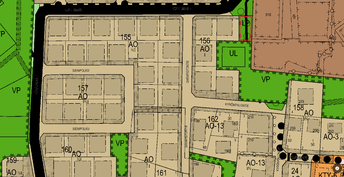Tämä tontti on Kyrönpalontien ja Sarapistontien risteyksessä suoraan, kävelytie tontin alapuolella