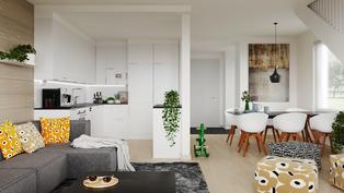 94,5 m2 asunnon sisähavainnekuva 1