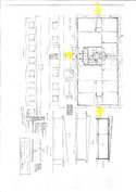 Talon piirrustukset, talo muutettu harjakattoiseksi