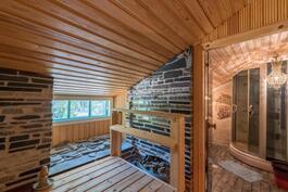 Sauna. / Bastu.