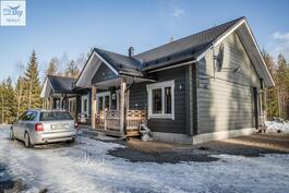 Sisäänkäynti, tervetuloa tutustumaan taloon puh. 050 373 6663/Heli