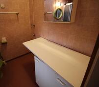 """Kylpyhuoneen """"kodinhoitonurkkaus"""""""