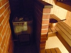 Puukiuas/sauna