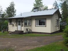 Talon laajennusosa on  tehty v. 1972 (kuisti, sauna,psh).