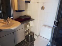 Kaksion wc ja suihku
