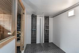 Taloyhtiön viihtyisä 2017 uusittu saunaosasto