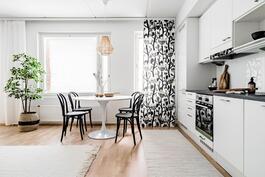 Esittelyasunto C60, 2h, k, s, 51 m², keittiö ja ruokailutila