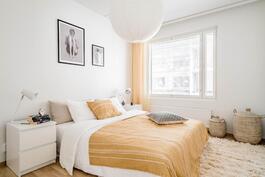 Esittelyasunto C60, 2h, k, s, 51 m², makuuhuone 1