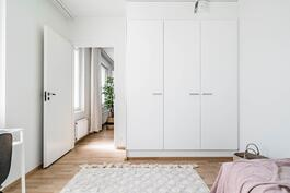 Esittelyasunto C60, 2h, k, s, 51 m², makuuhuone 2