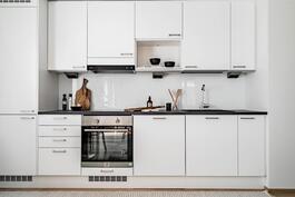 Esittelyasunto C60, 2h, k, s, 51 m², keittiö
