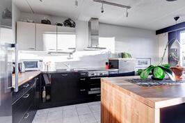 keittiön kalusteet  on tehty laadukkaista materiaaleista