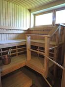 Oma valoisa sauna
