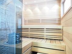 Sauna, kuva vastaavasta valmiista