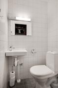 Asunnon toinen wc/ Lägenhetens andra toalet