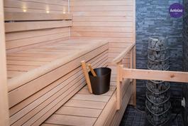 Sauna ja pesutilat on uusittu 2012