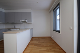 Kuva vastaavanlaisesta tyhjästä huoneistosta
