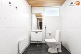 Yhteisten saunatilojen wc