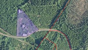 Tämän esimerkkimääräalan koko on n 8000 m2.