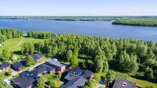 Hienoa Pyykösjärven maisemaa