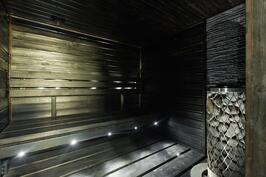 Sauna on tunnelmallinen
