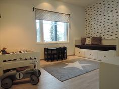 Makuuhuone 3 alakerrassa
