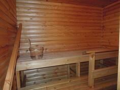 sauna, jossa sähkökiuas