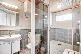 Ikkunallinen kph ja erillinen wc-tila