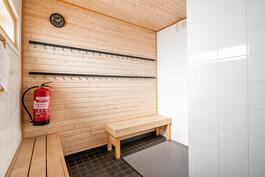 saunan puhuhuone