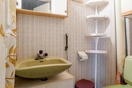 keskikerroksen erillinen wc