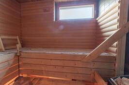 Huoneistolla oma sauna