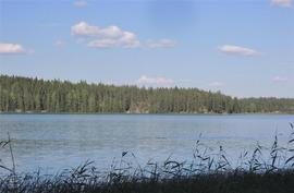 Upeat näkymät järvelle.