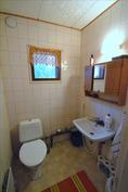 Erillisessä wc:ssä vesimittari