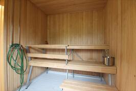 Yhtiön saunaosasto