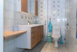 Talon toinen wc tila