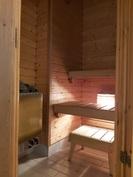 Pieni siisti sauna