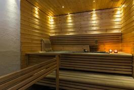 Sauna, remontoitu 2007