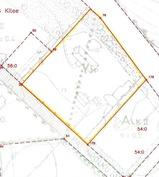 Määräala n. 9200 m2 merkitty keltaisella
