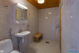 Kylpyhuone remontoitu 2006
