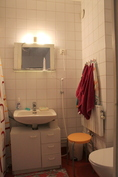 Yläkerran wc/suihkutila